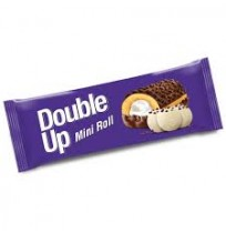 Double Up Vanilyalı Mini Roll Cake 45Gr 24'lü Paket