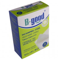 B-GOOD GAZ KOMPRES 7,5CM*7,5CM 25'Lİ