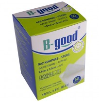 B-GOOD GAZ KOMPRES 7,5CM*7,5CM 50'Lİ